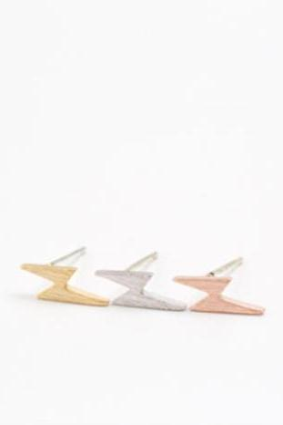scratch Lightning earrings